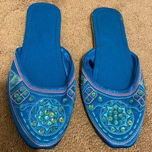 4/$30 Flat mule shoes